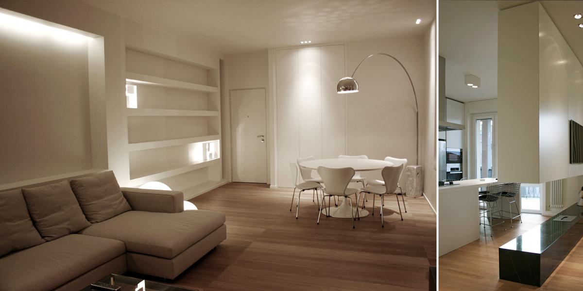 Pareti Colorate Soffitto Bianco : Progetto #1 // Progetti - Interior ...