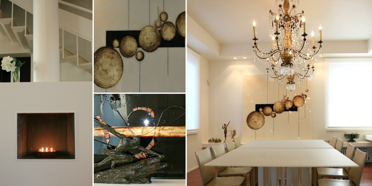 Progetto 2 progetti interior design maria angela - Zona pranzo design ...